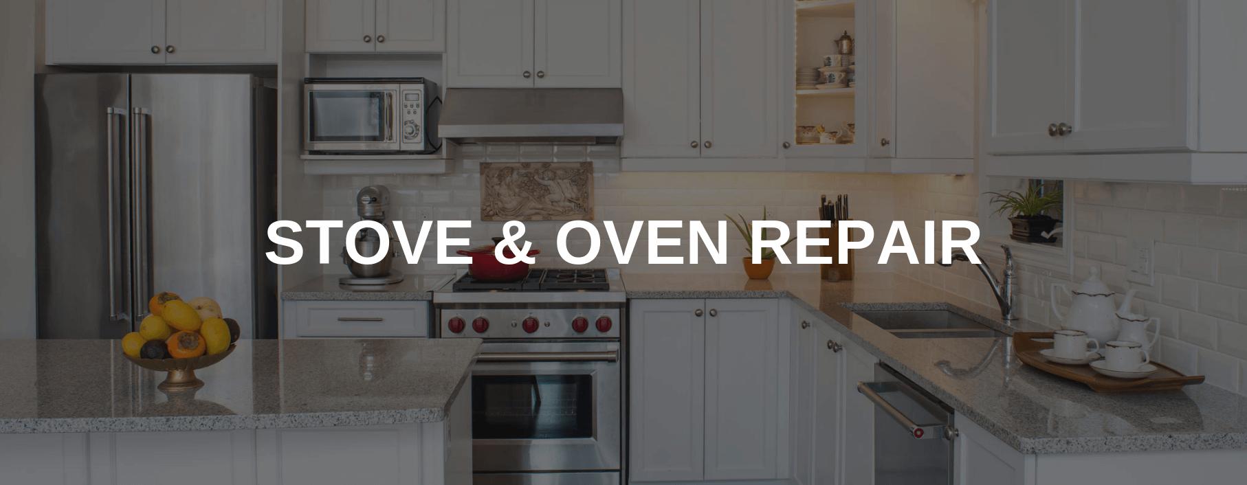 stove repair fullerton